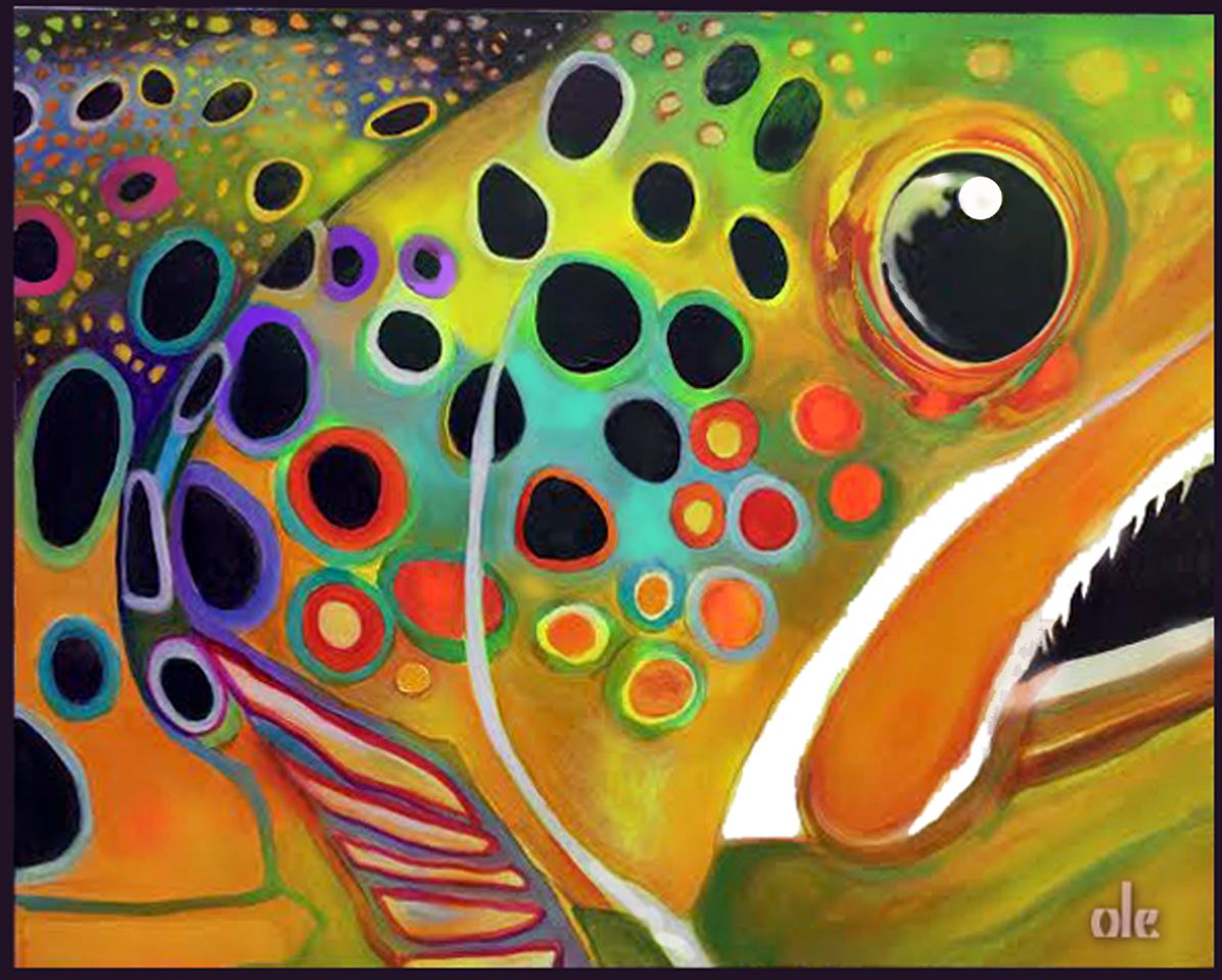 Big Fish 1 by Mark Oleson