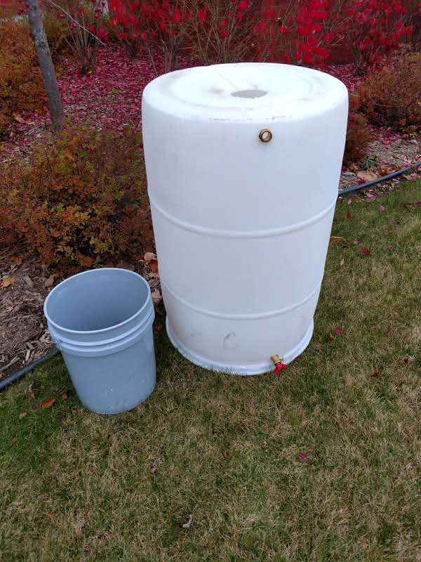 City Rain Barrel