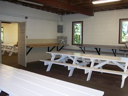 Glen Park Shelter Interior