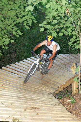 Whitetail Ridge Biker