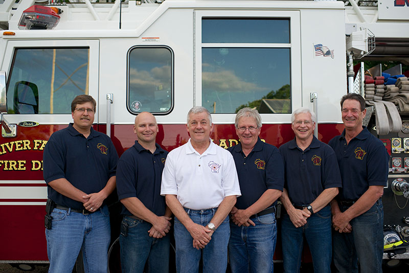 2013 River Falls Fire Department Officers